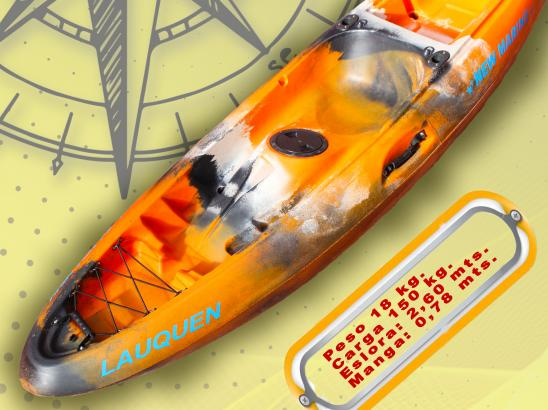 kayak Lauquen