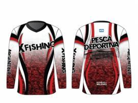 Remera Pesca Deportiva Secado Rapido Filtro Uv